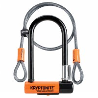 Kryptonite Evolution New-U Mini-7 U-Lock & Cable