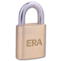 Era Solid Brass Padlock 20mm