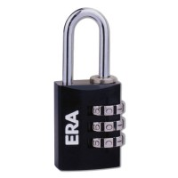 Era Black Combination Padlock 20mm