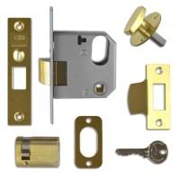 Backset: 47mm - Polished Brass