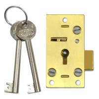 Union Lever Cupboard Lock 64mm