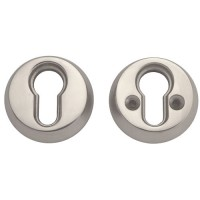 Union Euro Security Rose Bolt Fix Satin Chrome