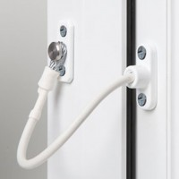 Jackloc Window Restrictor Swivel White