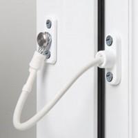 Jackloc Window Restrictor Swivel White