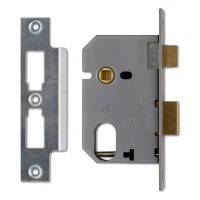 44mm Backset - Satin Chrome