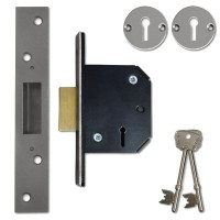 Willenhall M1 Deadlock 64mm Satin Chrome