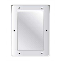 Securikey Anti Vandal Flat S/Steel Mirror