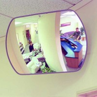 Securikey Rectangular Acrylic Interior Mirror