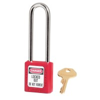 Master Lock 410LT Lockout Padlock Red
