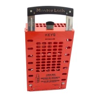 Master Lock Group Lock Box Red