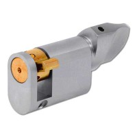 Evva Oval Blind Cylinder Nickel Plated