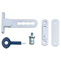 P117 Ventilation Window Lock White