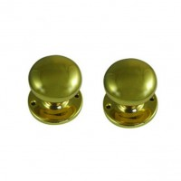 Legge 472 Victorian Knob Turn 51mm Polished Brass