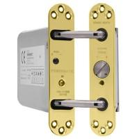 Perko Powermatic R100 Hydraulic Door Closer - Brass