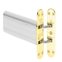 Perkomatic R85 Concealed Door Closer - Brass