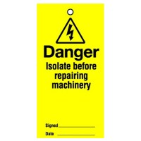 Lockout Tag Danger Isolate Before
