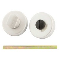 TSS Bathroom Indicator And Turn Satin Aluminium