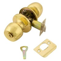 TSS Privacy Knobset Polished Brass