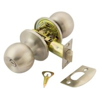 TSS Privacy Knobset Satin Stainless Steel