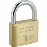 Viro Brass Padlock 70mm