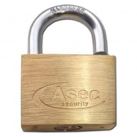 Asec Brass Padlock 50MM MK-CC