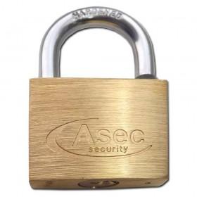 Asec Brass Padlock 60MM MK-CC