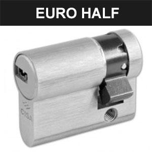 Euro Half Cylinders