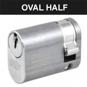 Oval Half Cylinders