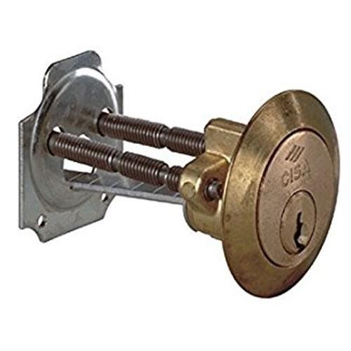 Cisa Rim Cylinder Brass
