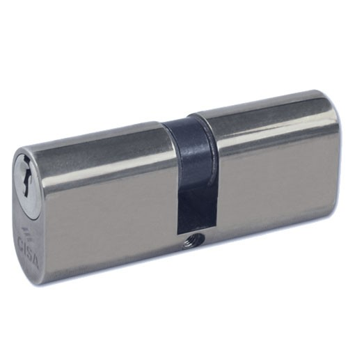 Cisa Oval Cylinder Nickel Plated