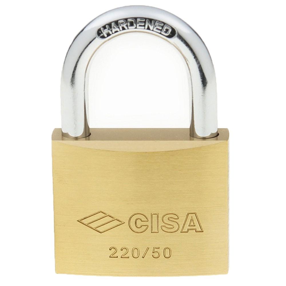 Cisa Brass Padlock 22010 50mm OS