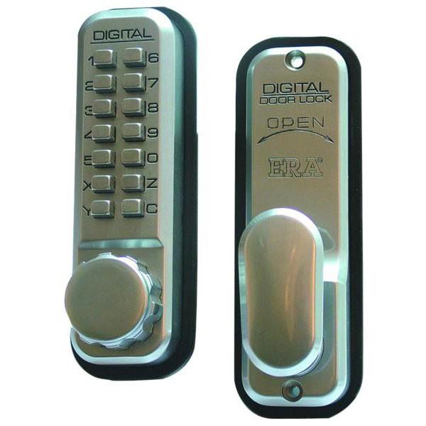 Era 290 Mechanical Digital Lock Satin Chrome
