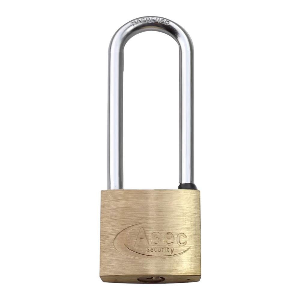 Asec Brass Padlock 30MM LS
