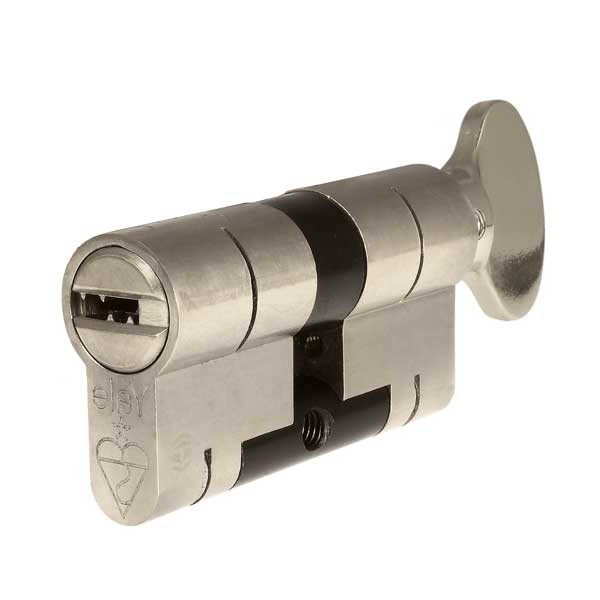 Yale Superior 1* Key & Turn Cylinder Chrome