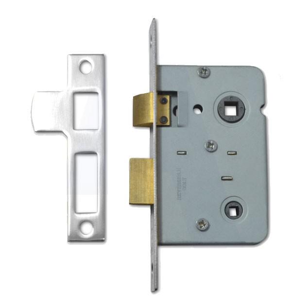 Legge Bathroom Lock 64MM Nickel Plated