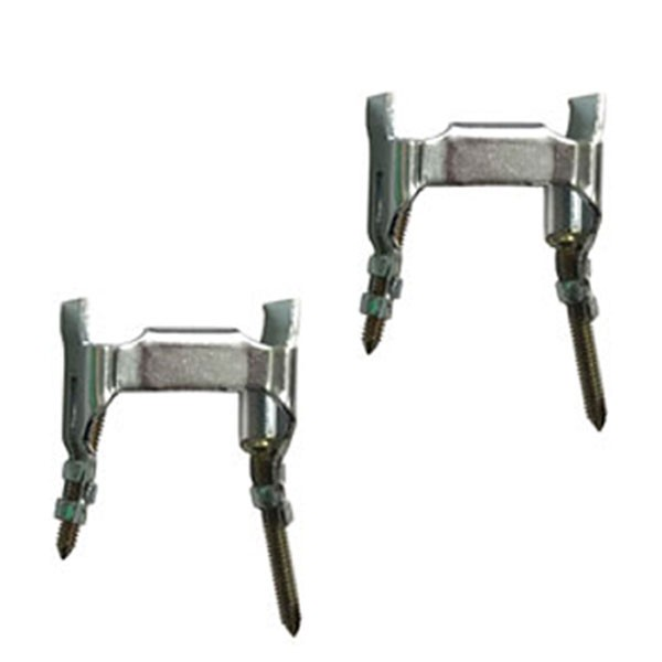 Adams Rite Flat Mounting Clips Pair