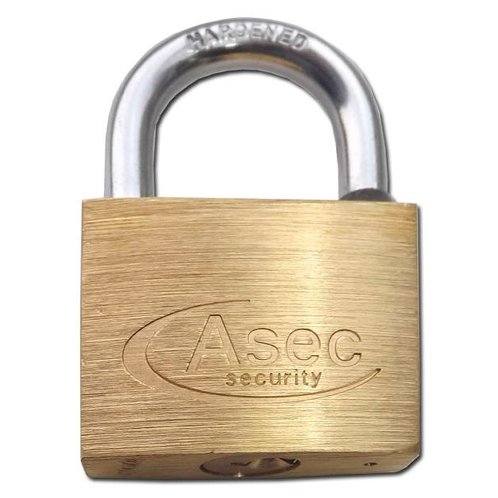 Asec Brass Padlock 45MM