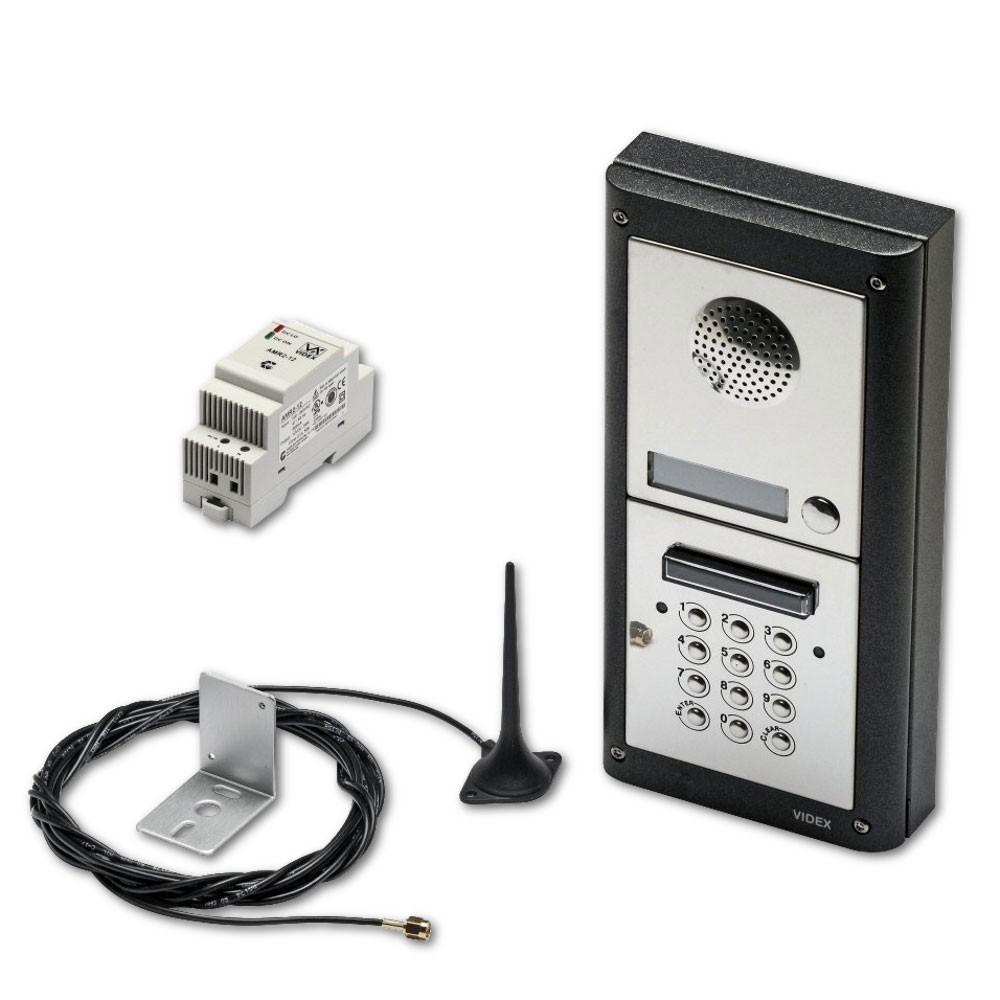 VIDEX 1 Way Audio GSM Kit with Keypad