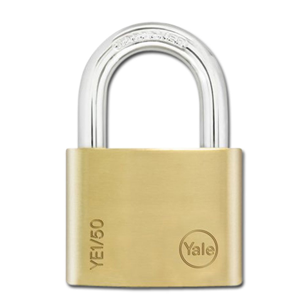 Yale Essential Brass Padlock 50mm KD
