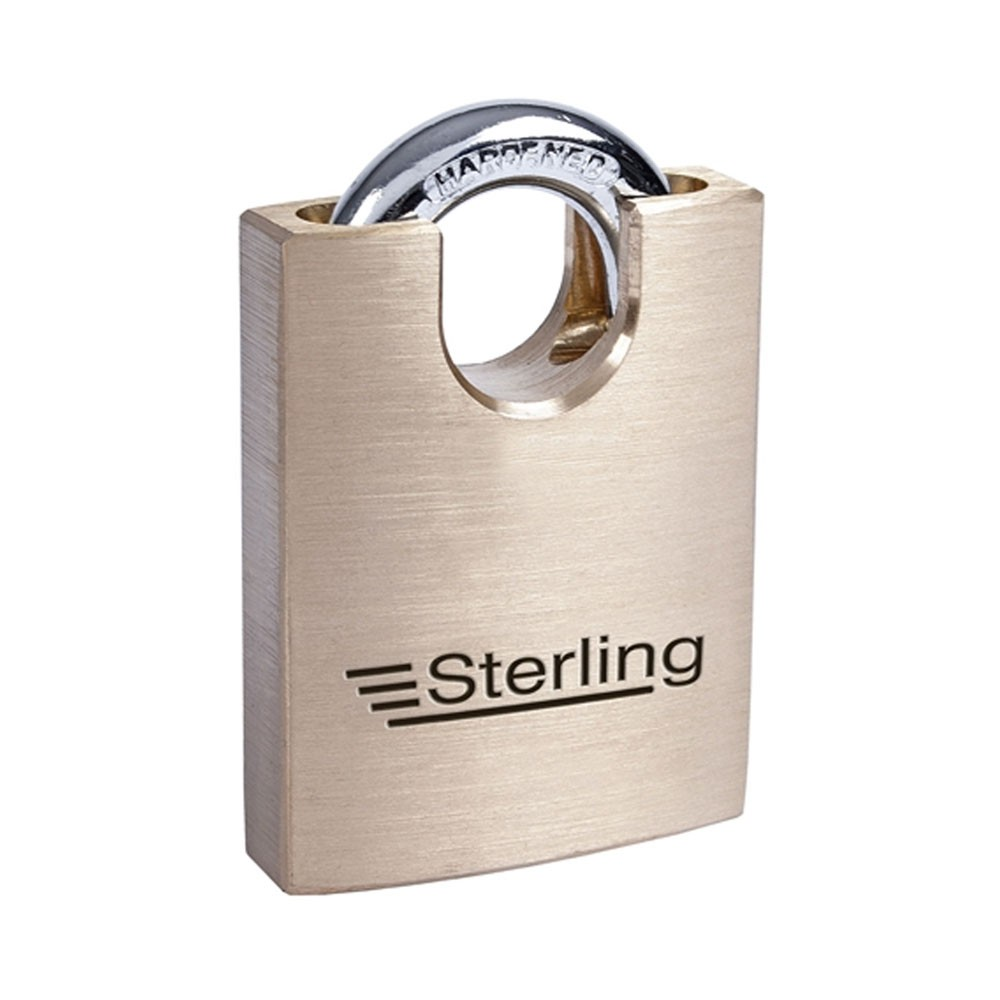Sterling Brass Closed Shackle Padlock 50mm