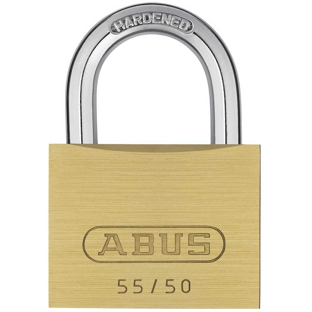 55/50mm Brass Padlock