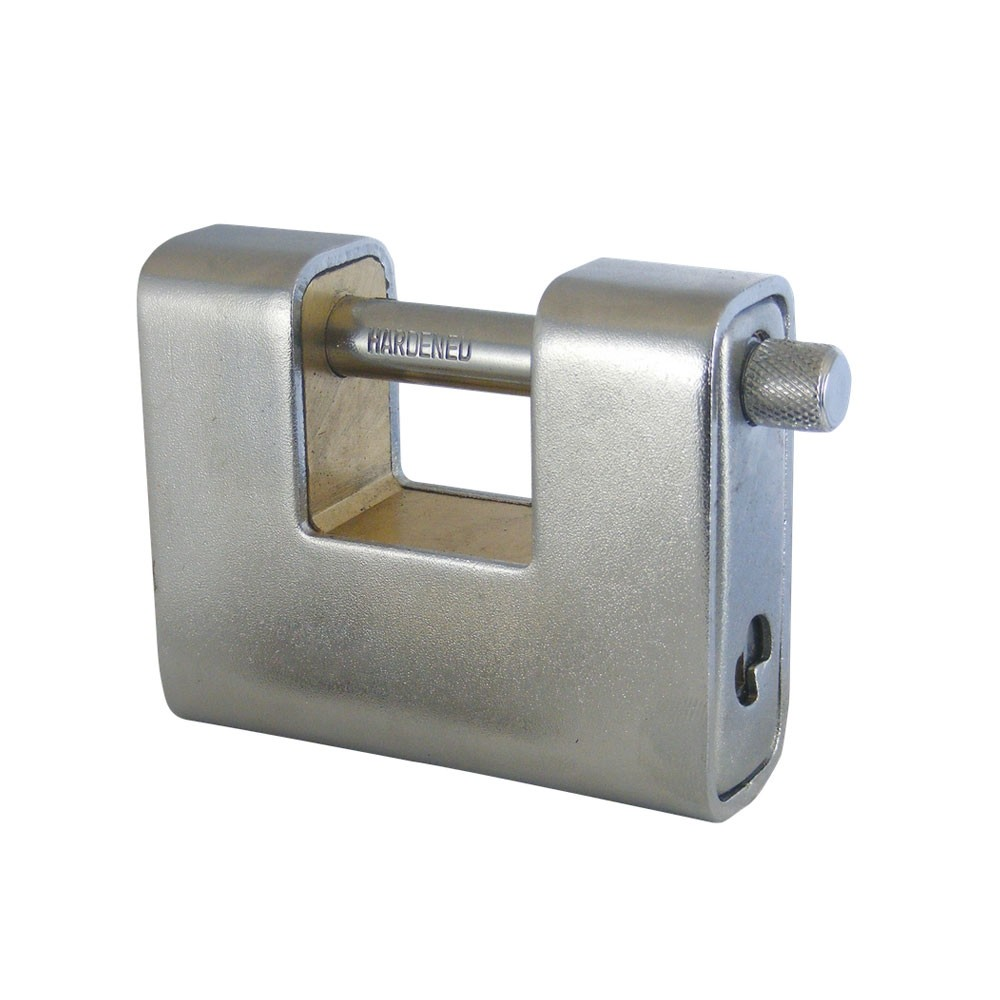 Asec Steel Sliding Shackle Padlock 60mm