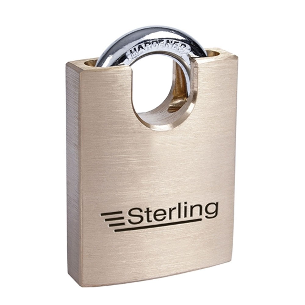 Sterling Brass Closed Shackle Padlock 60mm