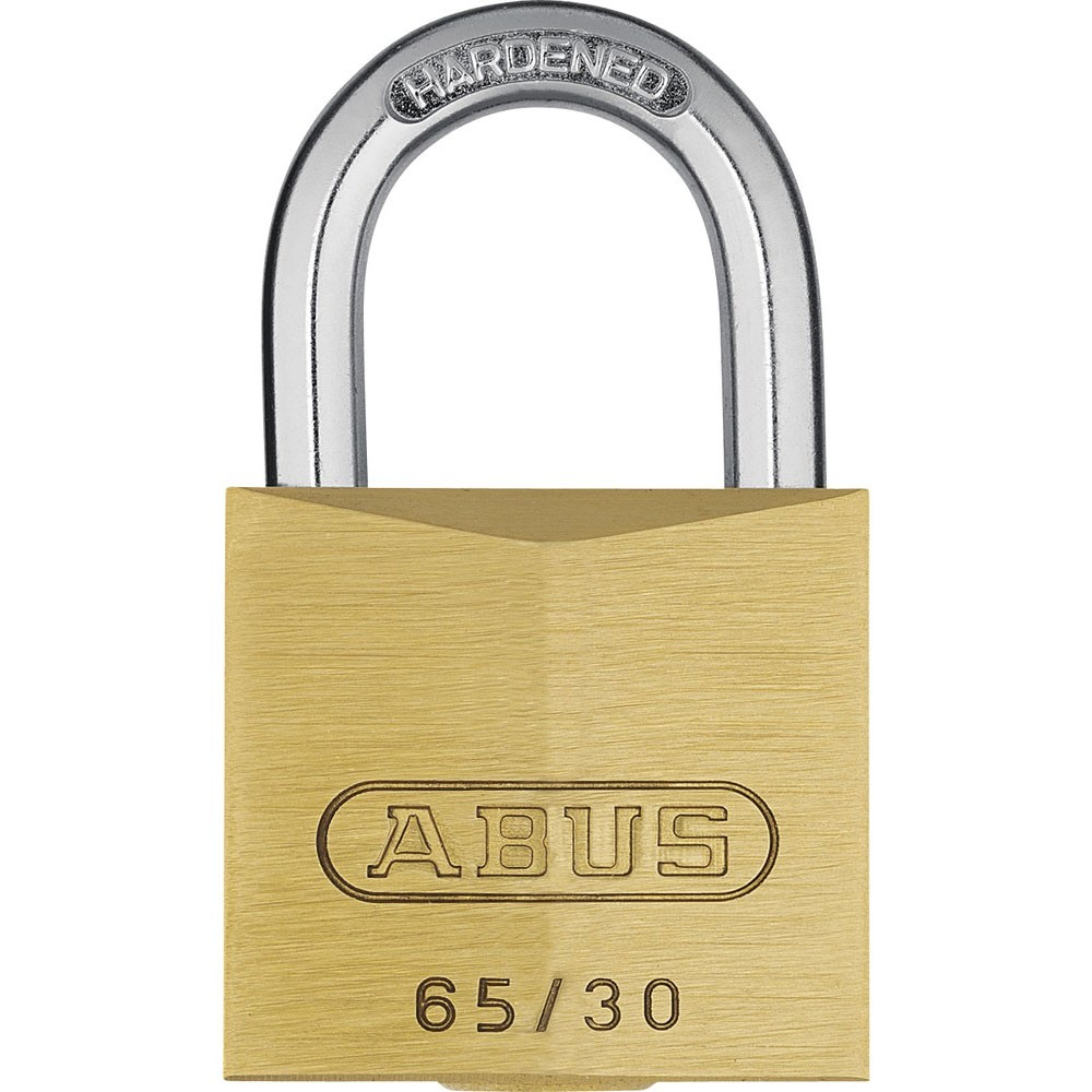 65/30mm Brass Padlock