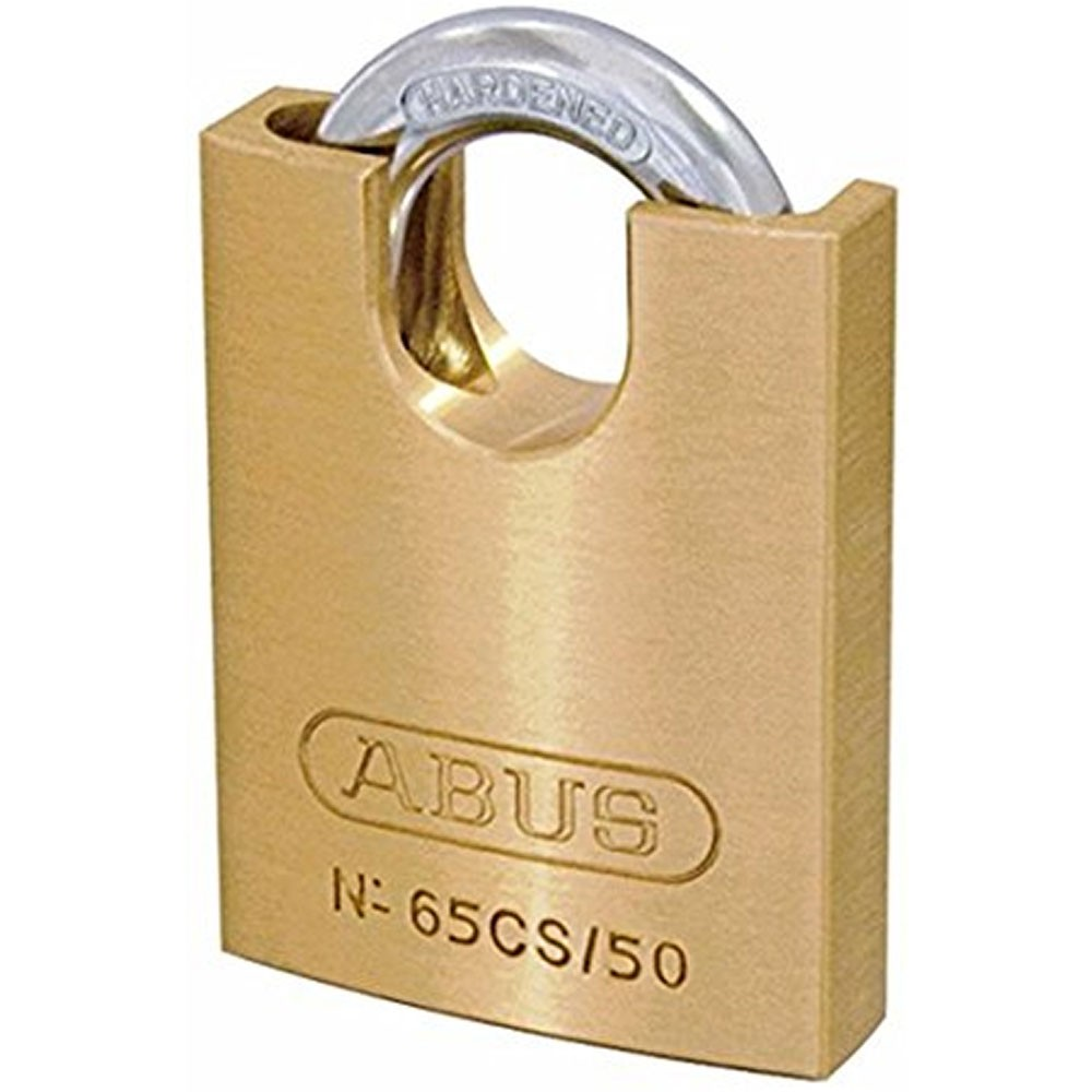 65/50mm Brass Padlock