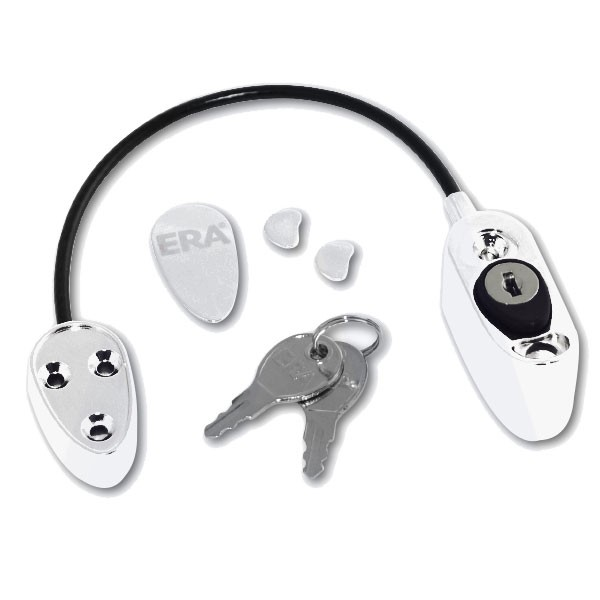 Era Safety Locking Restrictor White