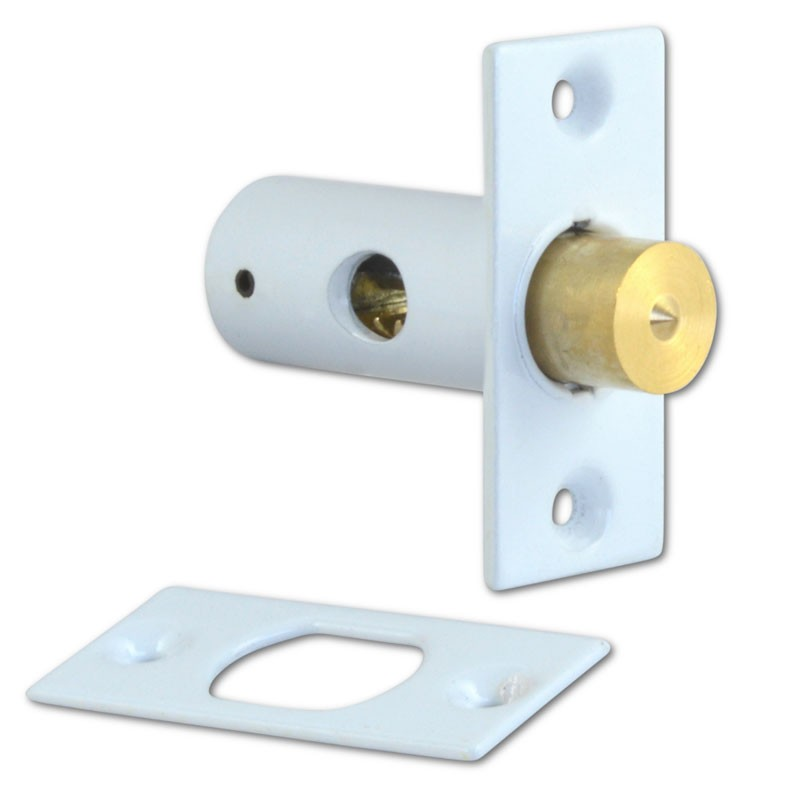 Era 837 Mortice Window Bolt White