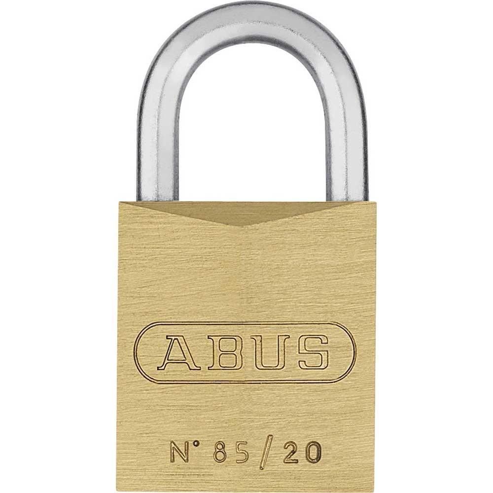 Abus 85/20mm Brass Padlock