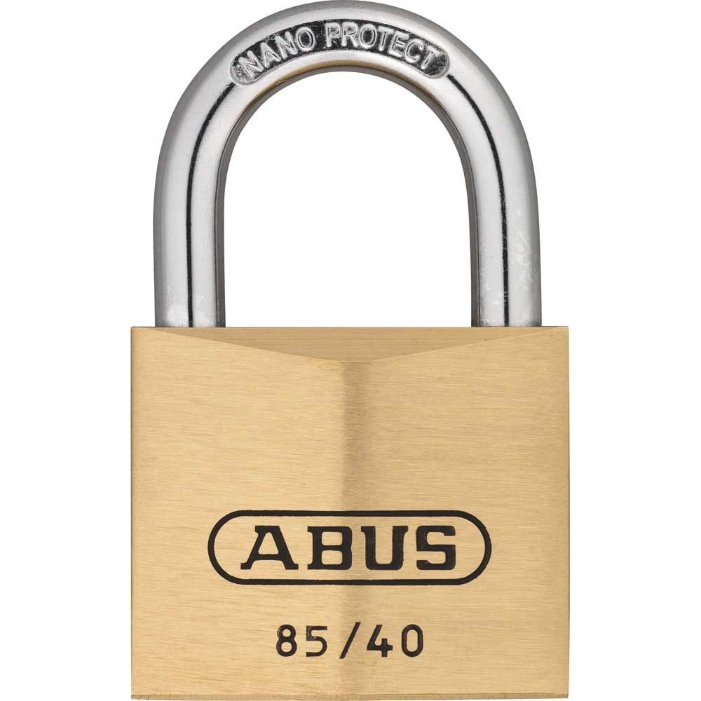 85/40mm Brass Padlock