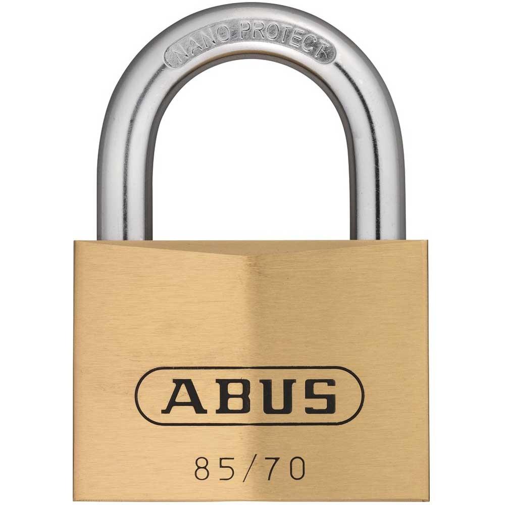 Abus 85/70mm Brass Padlock KA 121